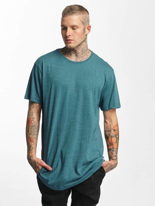 Urban Classics Tall Tees Shaped Melange Oversized Long turquoise