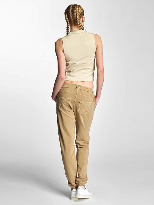 Urban Classics Top Ladies Turtleneck beige