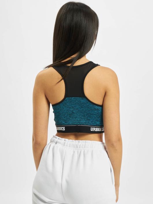Urban Classics Underwear Active Melange Logo turquoise