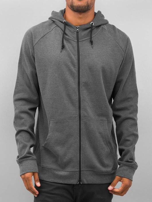 Urban Classics Zip Hoodie Heavy Interlock gray