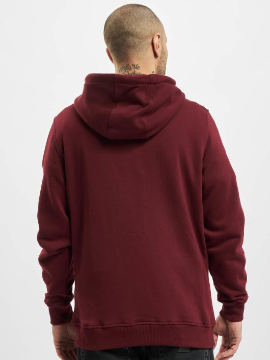 Urban Classics Zip Hoodie Basic red