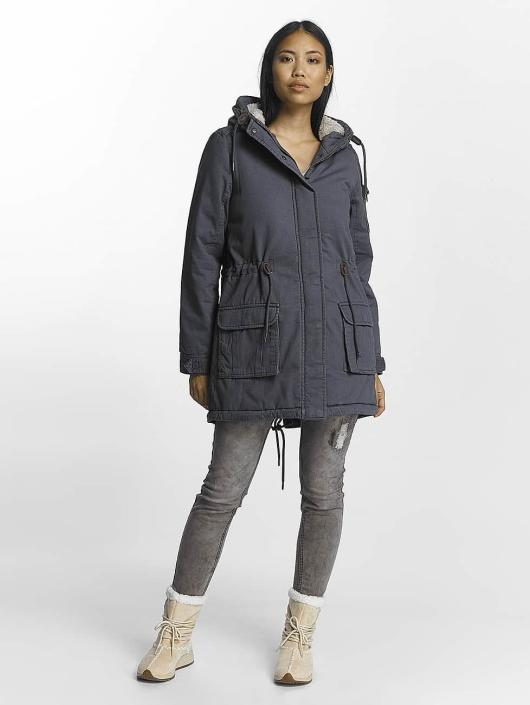 Urban Surface Coats Back Print blue