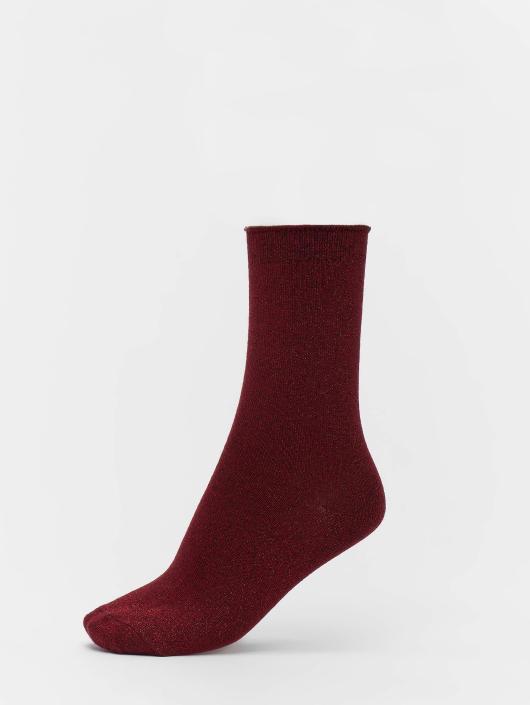 Vero Moda Socks vmGlitter red