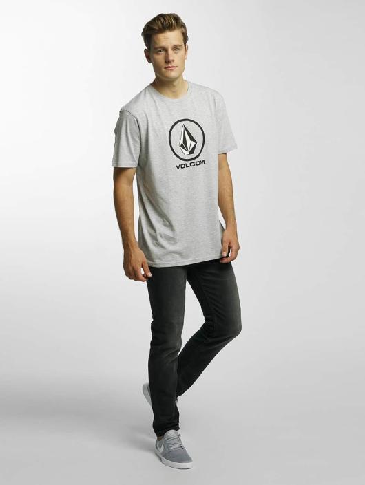 Volcom T-Shirt Circle Stone Basic gray