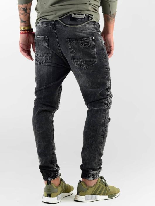 VSCT Clubwear Straight Fit Jeans Noah Biker black