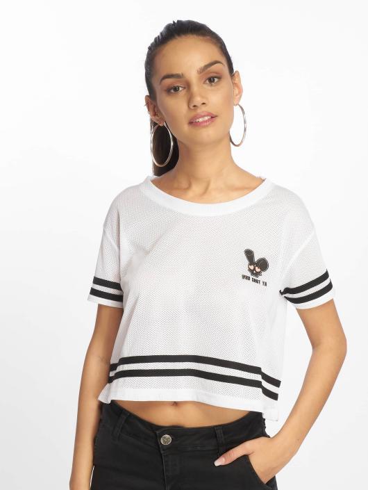 Who Shot Ya? T-Shirt Short Mesh white