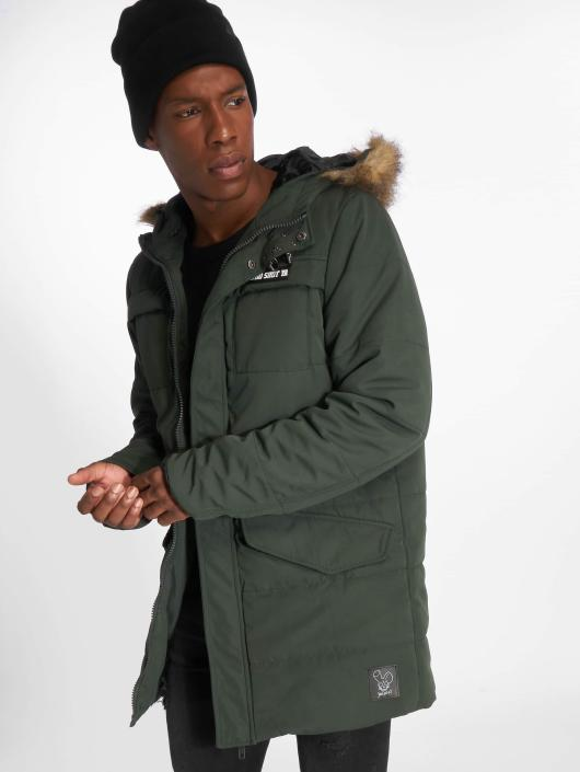 Who Shot Ya? Winter Jacket Battle Bass olive