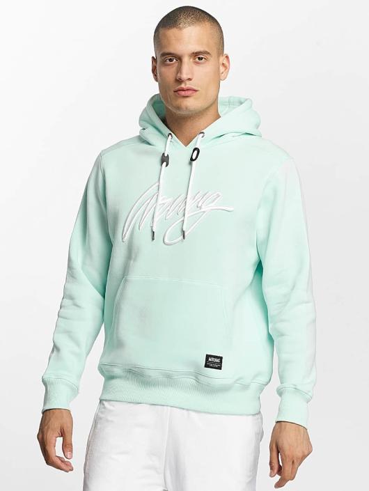 Wrung Division Hoodie Signature turquoise