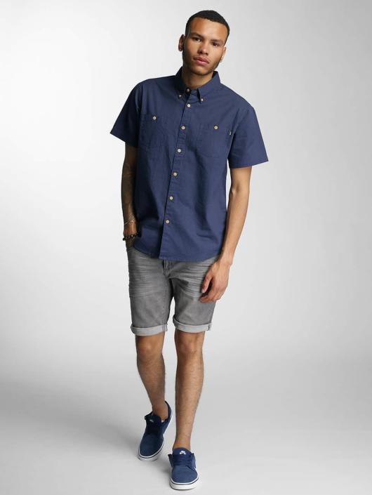 Wrung Division Shirt Linen indigo