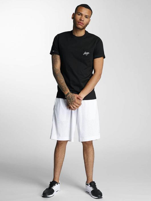 Wrung Division T-Shirt Black Sign black