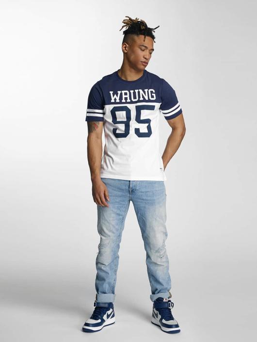 Wrung Division T-Shirt Beast blue