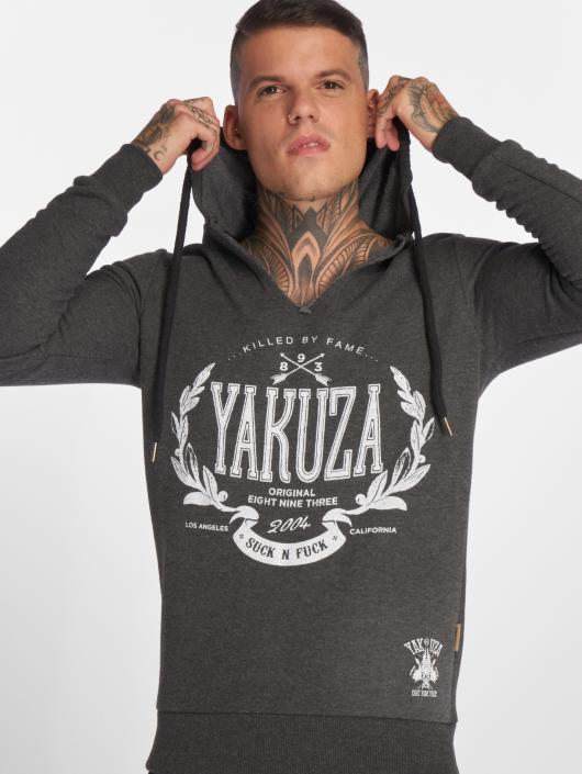 Yakuza Hoodie Killed By Fame gray