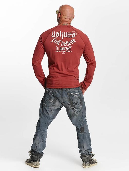 Yakuza Longsleeve Just Believe red