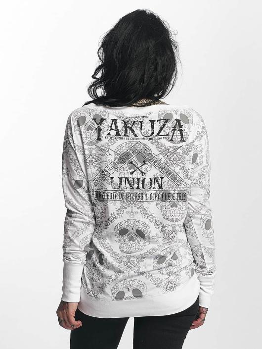 Yakuza Longsleeve Union white
