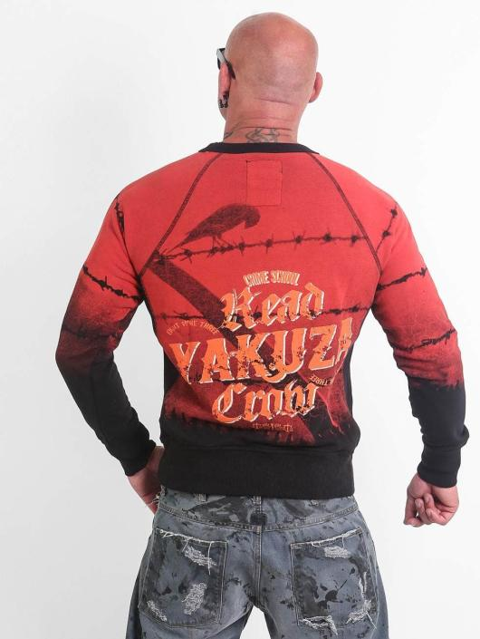Yakuza Pullover Read Crow red
