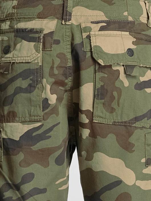 Yakuza Short Skull Label camouflage