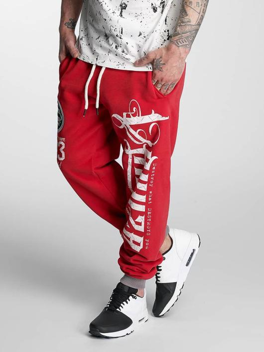 Yakuza Sweat Pant 2Face red