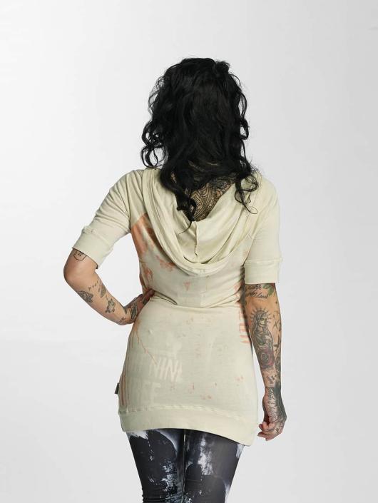 Yakuza T-Shirt Unicorn Hooded beige