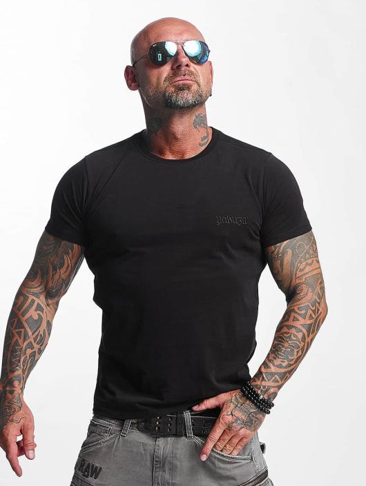 Yakuza T-Shirt Basic Line Crew Neck black
