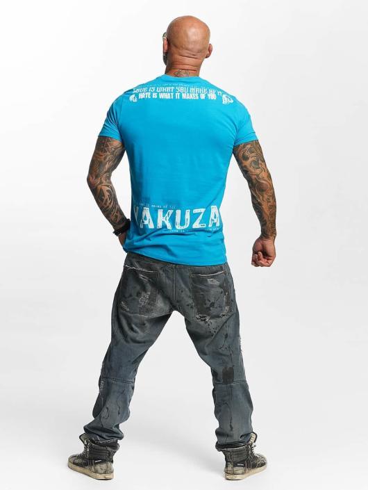 Yakuza T-Shirt Love Hate blue