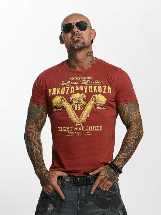 Yakuza T-Shirt Tattoo Shop red