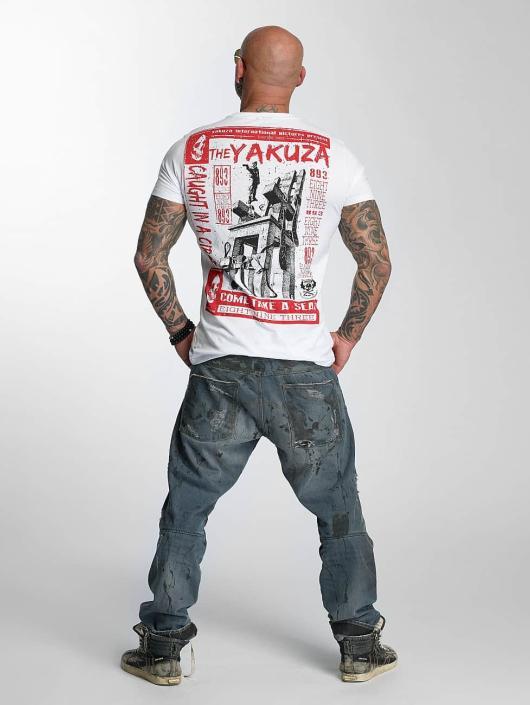 Yakuza T-Shirt Take A Seat white