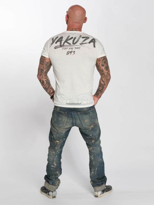 Yakuza T-Shirt Burnout white