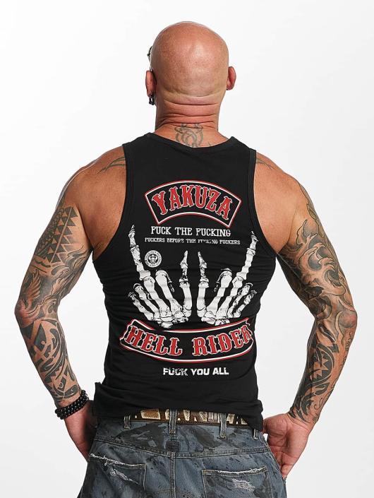 Yakuza Tank Tops Hell Rider black
