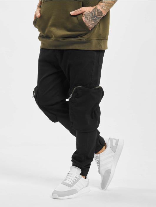 2Y Cargo pants Ahmet black