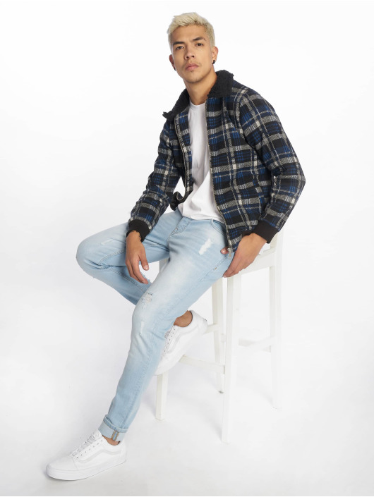 2Y Lightweight Jacket Lumberjack blue