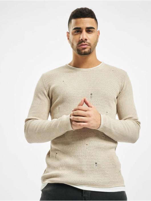 2Y Pullover Alder beige