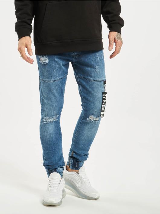 2Y Slim Fit Jeans Lenn blue