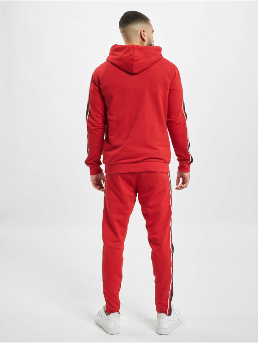 2Y Suits Hooded red