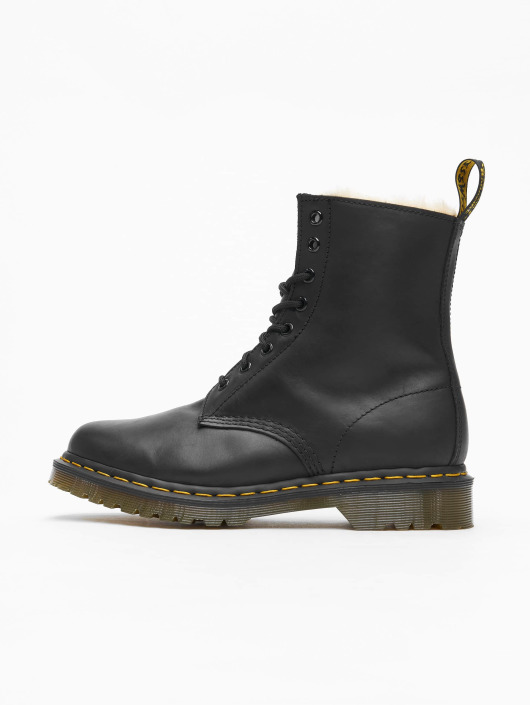 Dr. Martens Boots Serena Wyoming 8-Eye Burnished black