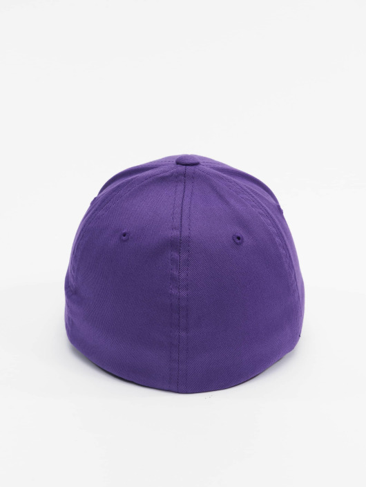 Flexfit Flexfitted Cap Wooly Combed purple