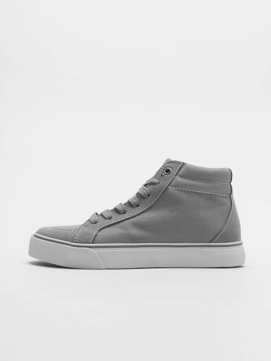 Urban Classics Sneakers High Canvas gray