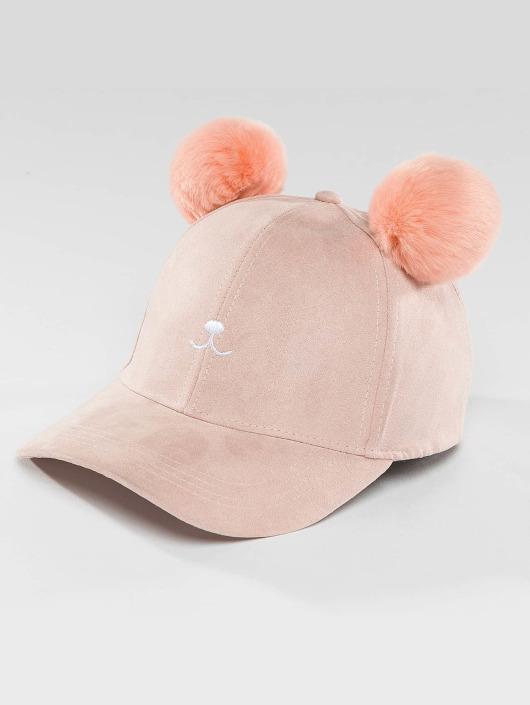 Bangastic Snapback Cap Teddy pink