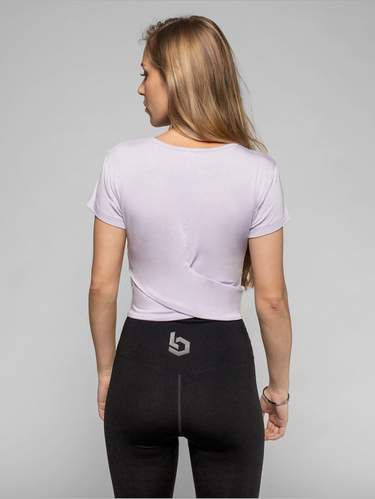Beyond Limits T-Shirt Bonded purple
