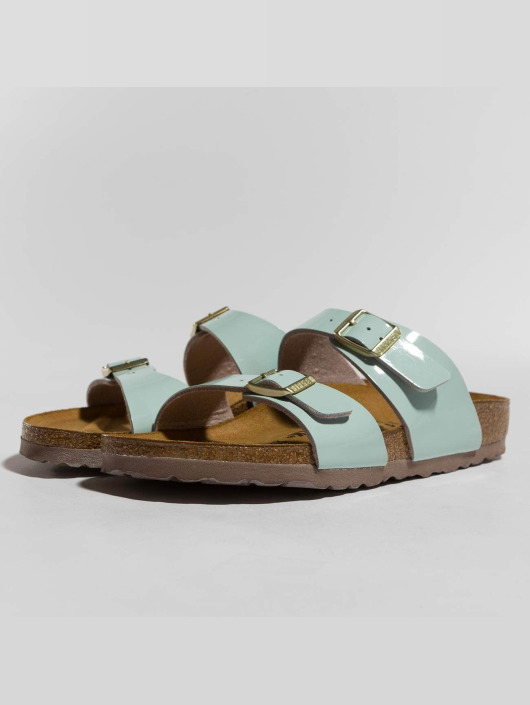Birkenstock Sandals Sydney BF Patent Two Tone blue