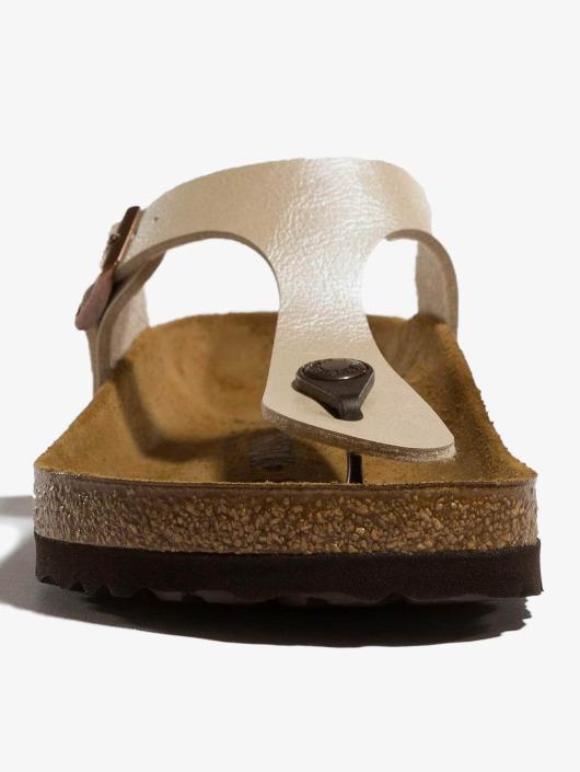 Birkenstock Sandals Gizeh BF Graceful white