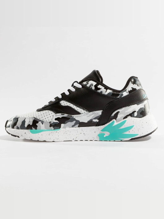 Dangerous DNGRS Sneakers Camo blue