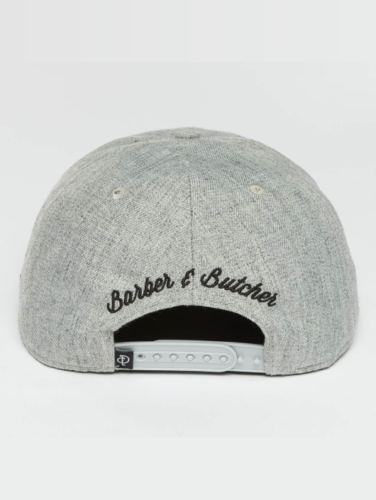 Distorted People Snapback Cap BB Blades gray