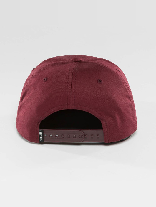 Etnies Snapback Cap Corp Box red