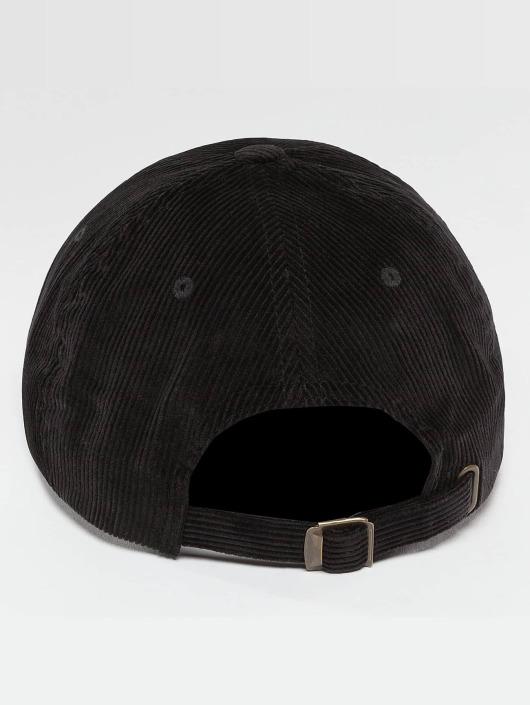 Flexfit Snapback Cap Low Profile Corduroy Dad black