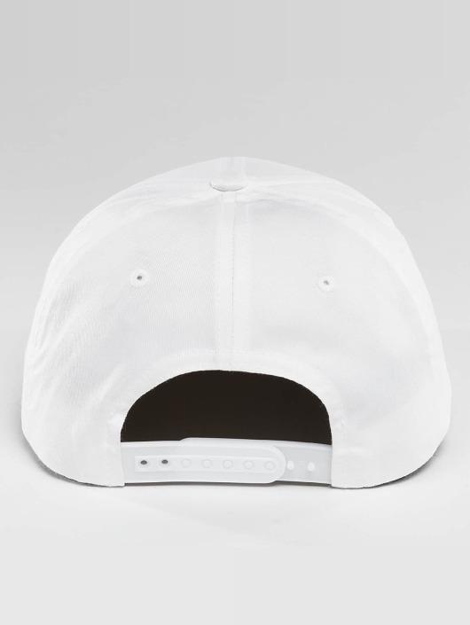 Flexfit Snapback Cap Curved Classic white