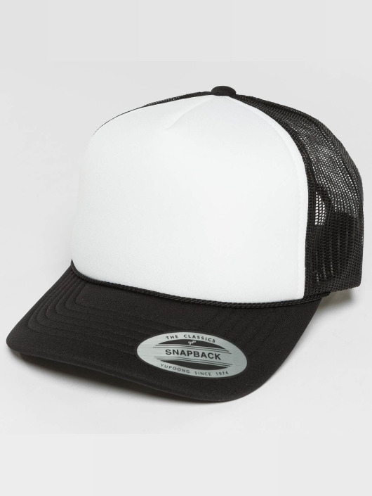 Flexfit Trucker Cap Curved Visor Foam black