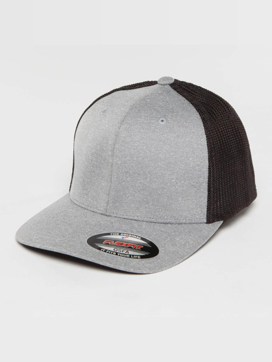 Flexfit Trucker Cap Melange gray