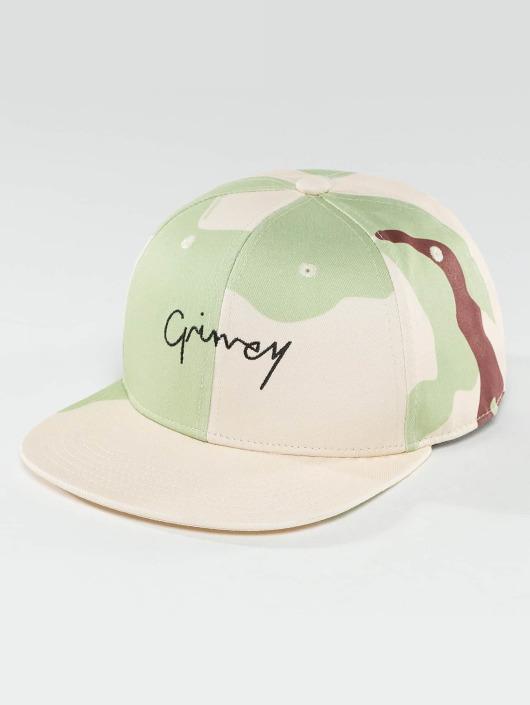 Grimey Wear Snapback Cap Natural Camo camouflage