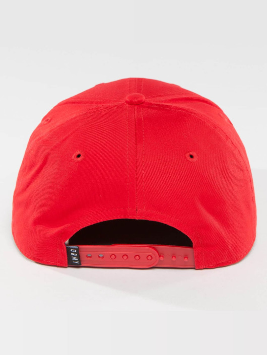 Grimey Wear Snapback Cap The Lucy Pearl red