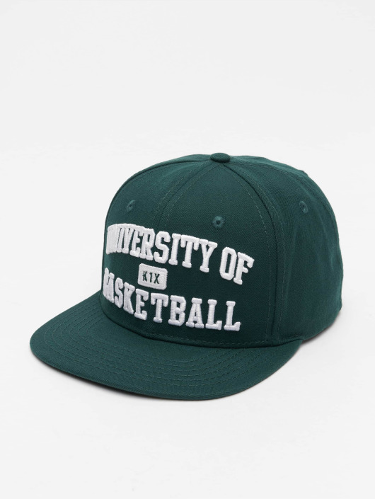 K1X Snapback Cap University of Basketball green